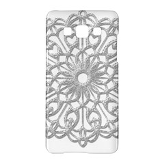 Scrapbook Side Lace Tag Element Samsung Galaxy A5 Hardshell Case