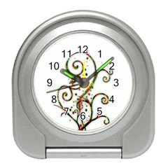 Scroll Magic Fantasy Design Travel Alarm Clocks