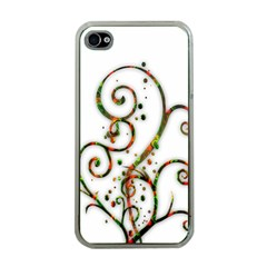 Scroll Magic Fantasy Design Apple Iphone 4 Case (clear) by Nexatart