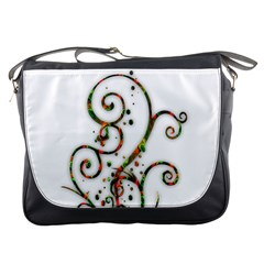 Scroll Magic Fantasy Design Messenger Bags
