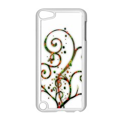 Scroll Magic Fantasy Design Apple Ipod Touch 5 Case (white) by Nexatart