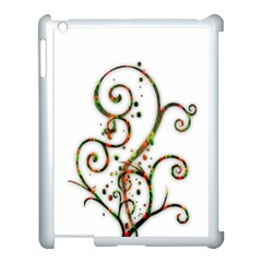Scroll Magic Fantasy Design Apple Ipad 3/4 Case (white)