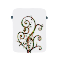 Scroll Magic Fantasy Design Apple Ipad 2/3/4 Protective Soft Cases by Nexatart