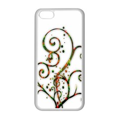 Scroll Magic Fantasy Design Apple Iphone 5c Seamless Case (white) by Nexatart