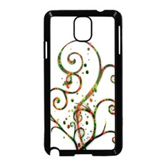 Scroll Magic Fantasy Design Samsung Galaxy Note 3 Neo Hardshell Case (black)