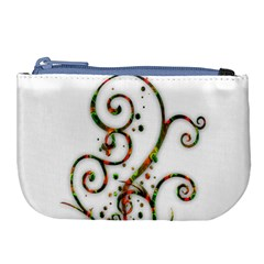 Scroll Magic Fantasy Design Large Coin Purse