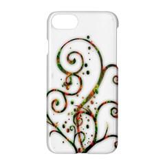 Scroll Magic Fantasy Design Apple Iphone 7 Hardshell Case by Nexatart