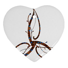 Abstract Shape Stylized Designed Ornament (heart) by Nexatart