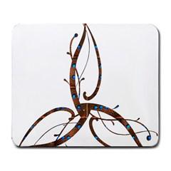 Abstract Shape Stylized Designed Large Mousepads by Nexatart