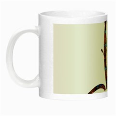 Abstract Shape Stylized Designed Night Luminous Mugs