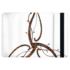 Abstract Shape Stylized Designed Ipad Air 2 Flip by Nexatart