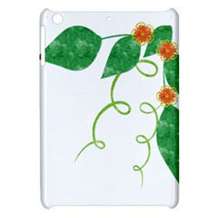 Scrapbook Green Nature Grunge Apple Ipad Mini Hardshell Case by Nexatart