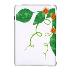 Scrapbook Green Nature Grunge Apple Ipad Mini Hardshell Case (compatible With Smart Cover) by Nexatart