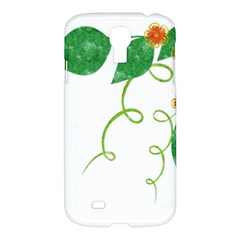 Scrapbook Green Nature Grunge Samsung Galaxy S4 I9500/i9505 Hardshell Case by Nexatart