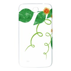 Scrapbook Green Nature Grunge Samsung Galaxy Mega I9200 Hardshell Back Case by Nexatart