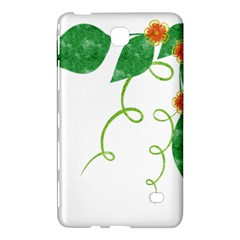 Scrapbook Green Nature Grunge Samsung Galaxy Tab 4 (7 ) Hardshell Case