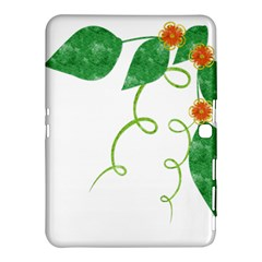 Scrapbook Green Nature Grunge Samsung Galaxy Tab 4 (10 1 ) Hardshell Case