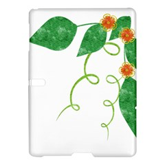 Scrapbook Green Nature Grunge Samsung Galaxy Tab S (10 5 ) Hardshell Case  by Nexatart
