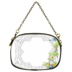Scrapbook Element Lace Embroidery Chain Purses (one Side)  by Nexatart