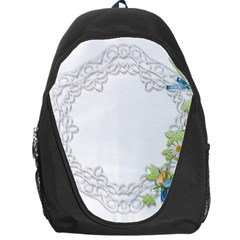 Scrapbook Element Lace Embroidery Backpack Bag