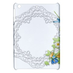 Scrapbook Element Lace Embroidery Apple Ipad Mini Hardshell Case by Nexatart