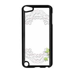 Scrapbook Element Lace Embroidery Apple Ipod Touch 5 Case (black) by Nexatart