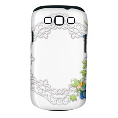Scrapbook Element Lace Embroidery Samsung Galaxy S Iii Classic Hardshell Case (pc+silicone)