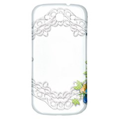 Scrapbook Element Lace Embroidery Samsung Galaxy S3 S Iii Classic Hardshell Back Case by Nexatart