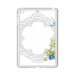 Scrapbook Element Lace Embroidery Ipad Mini 2 Enamel Coated Cases by Nexatart