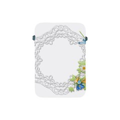 Scrapbook Element Lace Embroidery Apple Ipad Mini Protective Soft Cases