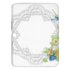 Scrapbook Element Lace Embroidery Samsung Galaxy Tab 3 (10 1 ) P5200 Hardshell Case  by Nexatart