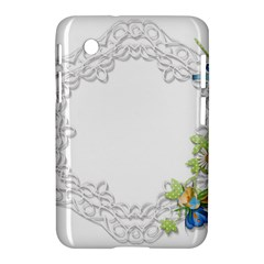 Scrapbook Element Lace Embroidery Samsung Galaxy Tab 2 (7 ) P3100 Hardshell Case  by Nexatart