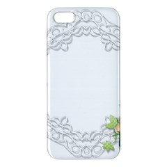 Scrapbook Element Lace Embroidery Iphone 5s/ Se Premium Hardshell Case by Nexatart