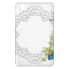 Scrapbook Element Lace Embroidery Samsung Galaxy Tab Pro 8 4 Hardshell Case