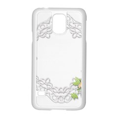 Scrapbook Element Lace Embroidery Samsung Galaxy S5 Case (white)