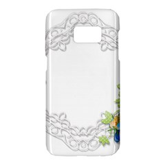 Scrapbook Element Lace Embroidery Samsung Galaxy S7 Hardshell Case