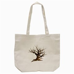 Tree Isolated Dead Plant Weathered Tote Bag (cream) by Nexatart