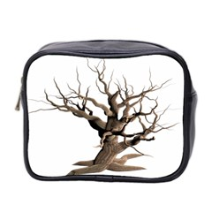 Tree Isolated Dead Plant Weathered Mini Toiletries Bag 2 Side by Nexatart