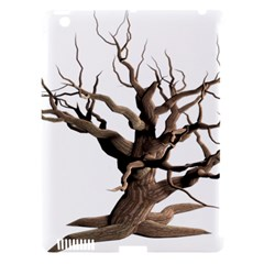 Tree Isolated Dead Plant Weathered Apple Ipad 3/4 Hardshell Case (compatible With Smart Cover)