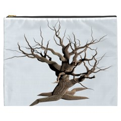 Tree Isolated Dead Plant Weathered Cosmetic Bag (XXXL)  by Nexatart