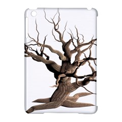 Tree Isolated Dead Plant Weathered Apple Ipad Mini Hardshell Case (compatible With Smart Cover) by Nexatart