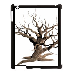 Tree Isolated Dead Plant Weathered Apple Ipad 3/4 Case (black)