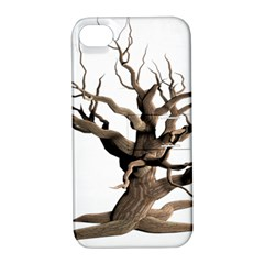 Tree Isolated Dead Plant Weathered Apple Iphone 4/4s Hardshell Case With Stand by Nexatart