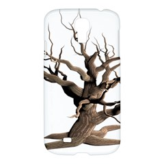 Tree Isolated Dead Plant Weathered Samsung Galaxy S4 I9500/i9505 Hardshell Case