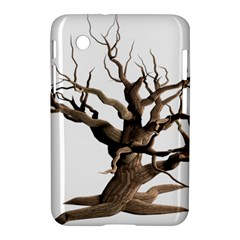 Tree Isolated Dead Plant Weathered Samsung Galaxy Tab 2 (7 ) P3100 Hardshell Case  by Nexatart