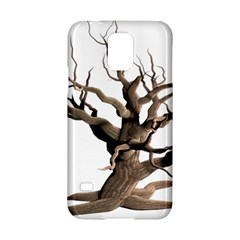 Tree Isolated Dead Plant Weathered Samsung Galaxy S5 Hardshell Case  by Nexatart