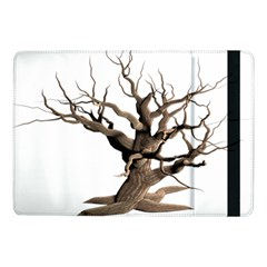 Tree Isolated Dead Plant Weathered Samsung Galaxy Tab Pro 10 1  Flip Case