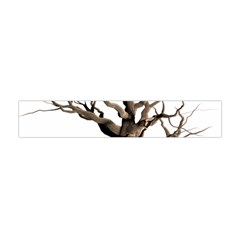 Tree Isolated Dead Plant Weathered Flano Scarf (mini) by Nexatart