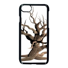 Tree Isolated Dead Plant Weathered Apple Iphone 7 Seamless Case (black) by Nexatart