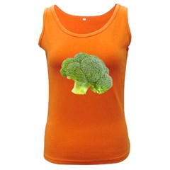 Broccoli Bunch Floret Fresh Food Women s Dark Tank Top